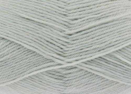 King Cole Pure Wool Yarn 500g Cone 4ply - Pale Grey